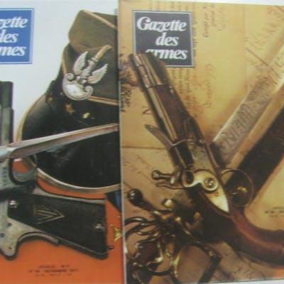 La gazette des armes 36 numéros: du 23 au 58 (numéros...