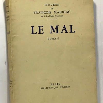 Le mal Mauriac François Critique littéraire