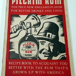 Pilgrim Rum Recipe Book [Cocktails] FLEISCHMANN