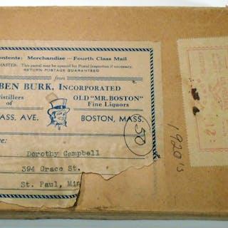 Old Mr. Boston De Luxe Official Bartender's Guide COTTON, Leo