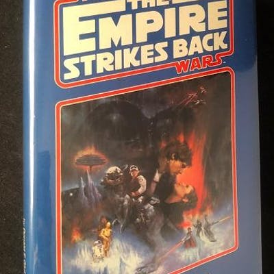 The Empire Strikes Back (1st Hardcover Printing); Proper...