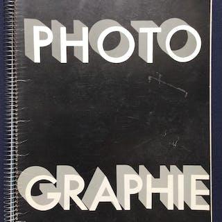 PHOTO GRAPHIE Photo 1930 1980 Photobook PHOTO GRAPHIE Worlwide Photobooks