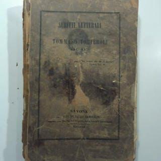 Scritti letterari TORTEROLI Tommaso liguria,risorgimento,simple,storia locale