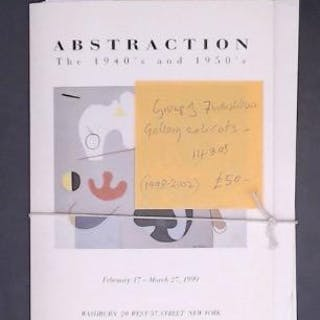 A group of 7 Washburn Galery exhibition catalogues Washburn