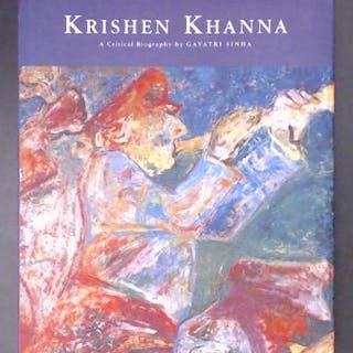 Krishen Khanna A Critical Biography Sinha
