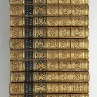 The works of Sir Francis Bacon, 17 Volumes. edited by Basil Montagu