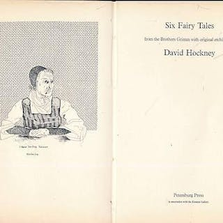 Six Fairy Tales from the Brothers Grimm with Original Etchings Hockney