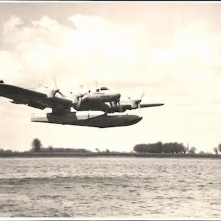 Fotografie Wasserflugzeug Blohm