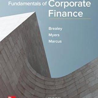 Fundamentals of Corporate Finance (Mcgraw-hill/Irwin Series in Finance