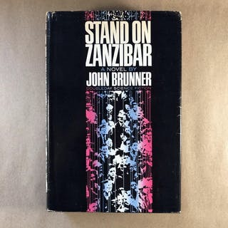 Stand on Zanzibar John Brunner Rare & Collectible