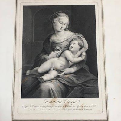 Nicolas de Larmessin - La Sainte Vierge D'aprés le...