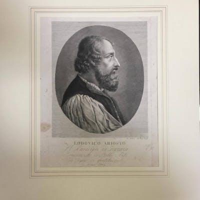 Ferdinando Poletti - Lodovico Ariosto al municipio di...