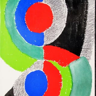 XXE SIECLE # 36 COVER SONIA DELAUNAY DELAUNAY