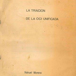 La Traición de la OCI Unificada Moreno