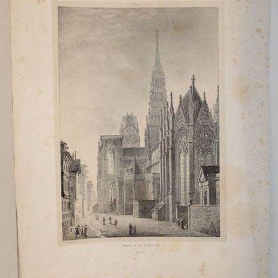 Abside de la Cathédrale. Rouen. [ROUEN] FRAGONARD (Alexandre-Evariste). ROUEN