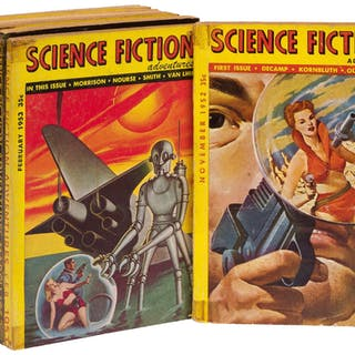 Science Fiction Adventure - 1952 - 1954 [Complete in 9 issues] (DICK
