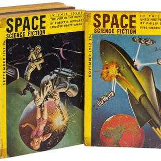Space Science Fiction - 1952 - 1959 [Complete in 8 issues] (DICK