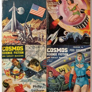Cosmos Science Fiction and Fantasy Magazine 1-4 [Complete] (DICK