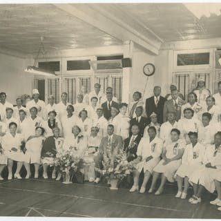 (Group photograph): Order of the Eastern Star   African-Americana,Photography