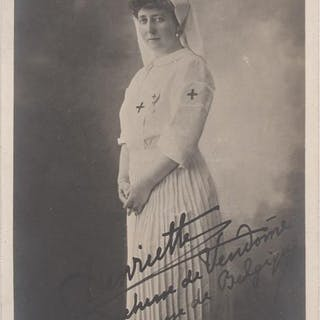 (Real photo post card): Henriette