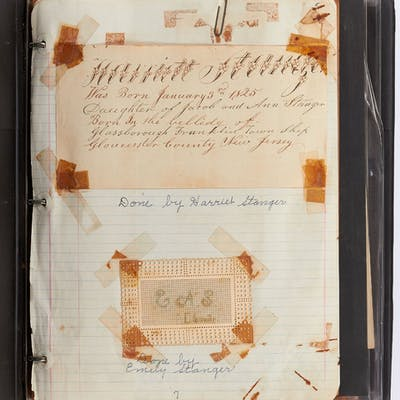 [Photo album]: Family Genealogy Photo Album with Ephemera...