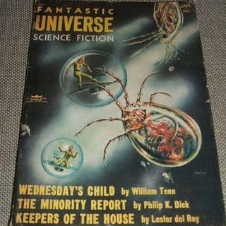 Fantastic Universe Science Fiction for January 1956 First...