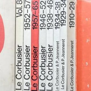 Le Corbusier. Oeuvre completes en 8 volumes AA.VV. ARCHITETTURA E DESIGN