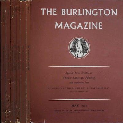 The Burlington Magazine Vol. CXIV - 1972 AA. VV. ARTE E SPETTACOLO