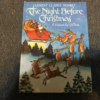 THE NIGHT BEFORE CHRISTMAS Moore, Clement Clarke CHILDRENS,HALLMARK,HOLIDAYS