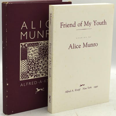 FRIEND OF MY YOUTH (Signed) Munro, Alice Literature and Genre
