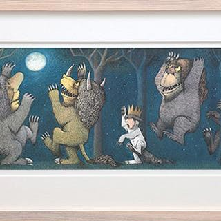 Max and the Wild Things having a Rumpus