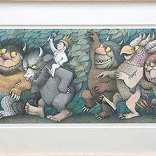 Max, King of the Wild Things. [From Where the Wild Things Are.] SENDAK, Maurice