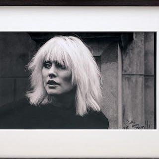 Debbie Harry 1983. [HARRY, Debbie.] FRASER, Jason.