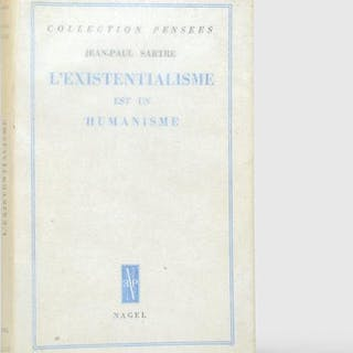 L'Existentialisme est un humanisme. SARTRE, Jean-Paul.