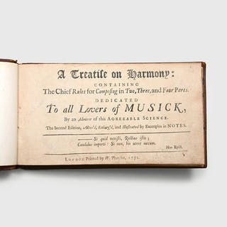 A treatise on Harmony: containing The Chief Rules for Composing in Two
