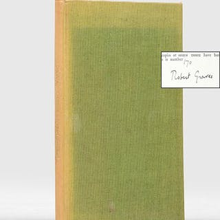 Poems 1929. GRAVES, Robert.