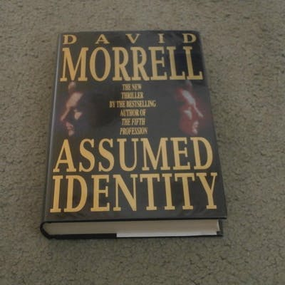 ASSUMED IDENTITY: VF/F SIGNED UK FIRST EDITION HARDCOVER 1/1 David Morrell