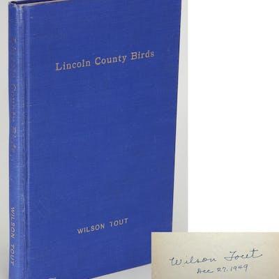 Lincoln County Birds [Lincoln County, Nebraska] TOUT, Wilson >>Birds