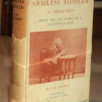 THE ARMLESS FIDDLER: A PEDISCRIPT