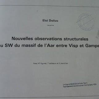 Nouvelles observations structurales au sw du massif de...