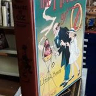The Magic of Oz L. Frank Baum *Book Gallery Catalog*,Children,Illustrated