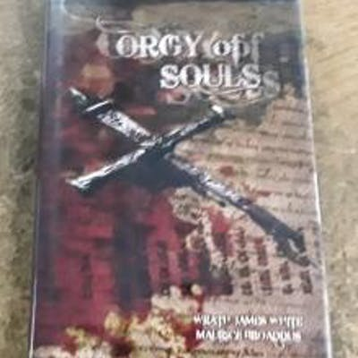 """Orgy of Souls (SIGNED Limited Edition) Copy """"130"""" of 350 Copies White"""