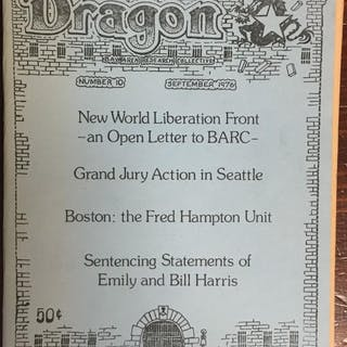 Dragon Number 10: September 1976 Bay Area Research Collective Marxism