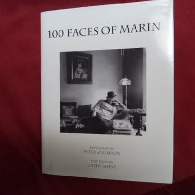 100 Faces of Marin. Inscribed by the author. Anderson, Peter & Cathy Shine.