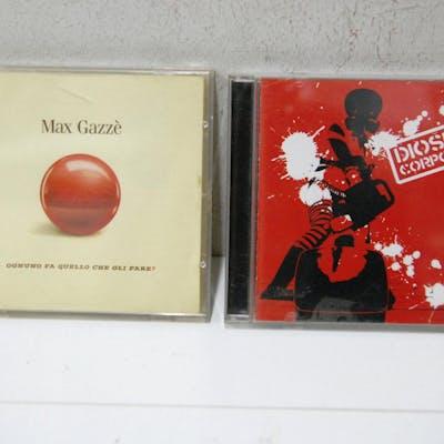 MAX GAZZè gazze OGNUNO FA QUELLO CHE GLI PARE E DIOSFERA CORPORATION 2 cd