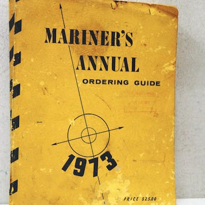 mariner's annual ordering guide aavv