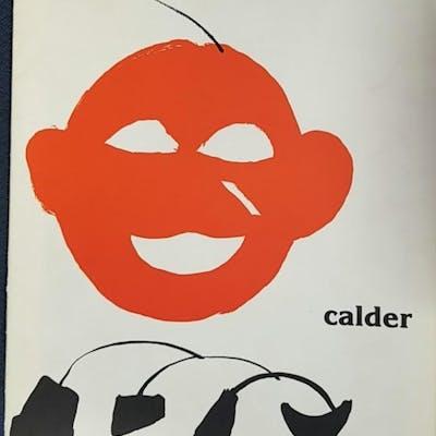 DERRIERE LE MIROIR NO. 221: CALDER Maeght Editeur; Derriere Le Miroir