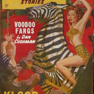 JUNGLE Stories: Winter (Nov.-Jan.) 1948 - 1949 Jungle...