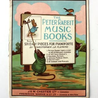 The Peter Rabbit Music Books