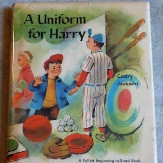 A Uniform For Harry Jackson, Caary Baseball,Childrens, Juvenile,Fiction